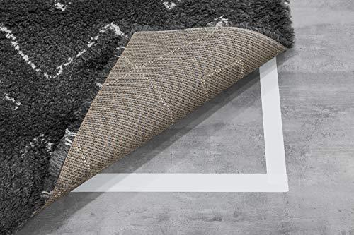 Original Teppichband 50mm x 25m   Doppelseitiges Verlegeband Klebeband für Teppiche, Matten, Pads   Extra starkes Teppichband für den Innenbereich   Hartholz, Fliesen, Laminat von Sanojtape
