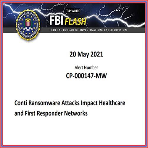 Couverture de FBI Flash: May 2021