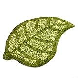 LKEY Leaf Kaki, Green 100% Cotton Bath Rug mat Area...
