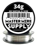 Kanthal A1 - 250' - 34 Gauge Resistance Wire