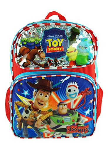Toy Story 4 - Deluxe 16' Full Size Backpack - Toy Heroes - A19427