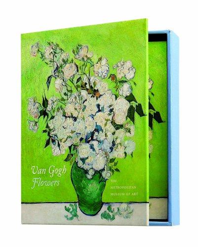 Boston International The MET Boxed Note Cards, Van Gogh Flowers, 24-Count