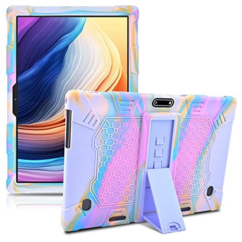 KATUMO Silikon Hülle für 10.1 Tablet Universal - Schutzhülle für Dragon Touch Tab 10, MEBERRY Tablet 10 Zoll, TOSCIDO Tablets 10 Zoll, KUNWFNIX Tab T10, Padgene Android Tablet 10 Zoll Hülle
