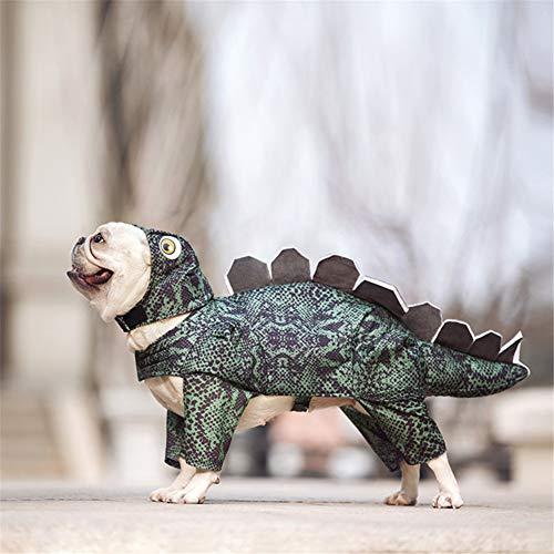 HIMAPETTR Halloween Haustier Anzug,Godzilla Cosplay Kostüm, Mit Ostern Party Lustiges, Zum Hund,M