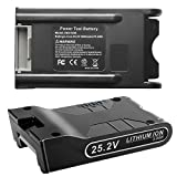 [2Pack] New Upgraded 3000mAh 25.2V Lithium-ion Battery XBAT200 Replacement for Shark XBA-T200, ION Rocket, IONFlex, ION F80, IONFlex 2X Cordless Vacuums