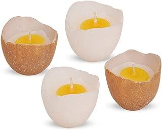 ca Gr/ö/ße 3 Mandarin-orange mittel CandleCorner Eikerzen Eikerze 12 x 8 cm