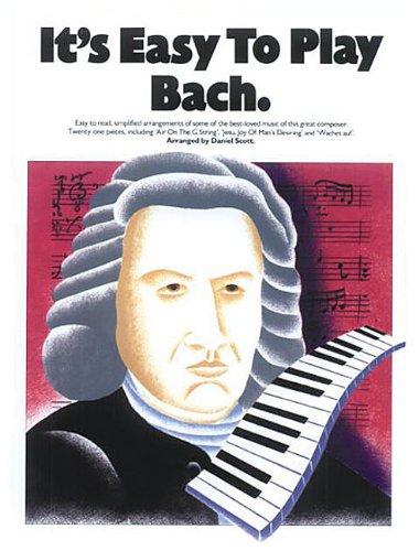 It's Easy To Play Bach -Piano- (Album): Noten für Klavier