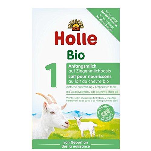 Holle Bio-Anfangsmilch 1 auf Ziegenmilchbasis, 4er Pack (4 x 400g)
