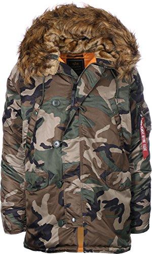Alpha Industries N3B VF 59 Jacke Camouflage XL