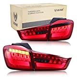 VLAND Luz trasera LED para ASX/Outlander Sport 2010 2011 2012 2013 2014 2015 2016 2017 2018 luces traseras (rojo)