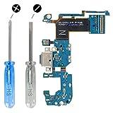MMOBIEL Conector Dock de Carga Repuesto Compatible con Samsung Galaxy S8 Plus G955F Conex.Micrófono Altavoz Incl. Htas.