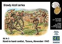 Masterbox 3544 Hand to Hand Combat Tarawa Nov 1943 1:35 Plastic Kit Maquette