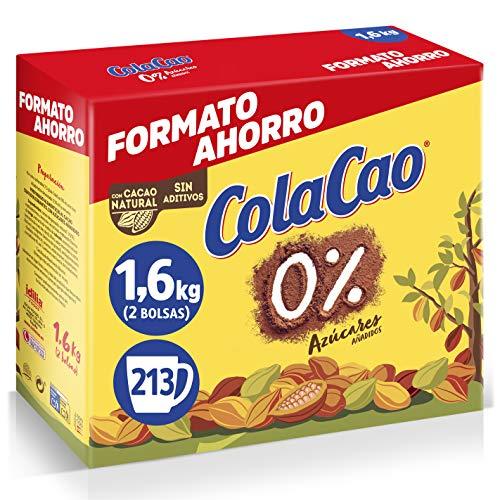 Cola Cao 0% Azúcares Añadidos, 1.6 Kg