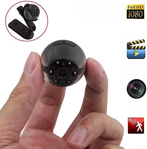 Mini Spy Hidden Camera Heymoko 1080P 720P Full HD 6 LED Infrared Night Vision Motion Detection product image
