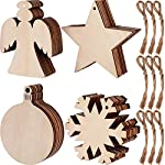 Wooden Ornaments Round Wood Slices