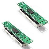 2 Pz Verde 8-Digit 7 Segmenti Modulo MAX7219 8 Bit Segmento Digitale Tubo LED Modulo Display Supporta Cascade Otto Bit Seriale 3 Porte IO Arduino Raspberry Pi