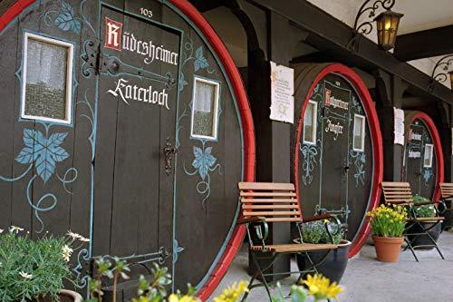 Jochen Schweizer Geschenkgutschein: Übernachtung im Weinfass in Rüdesheim für 2
