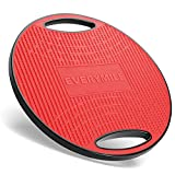 EveryMile Upgraded Wobble Balance Board, Exercise Board for Balance and Core Training, TPE Non-Slip Bump Surface, Stability Board for Adults, Home Gym, Standing Desk & Physical Therapy