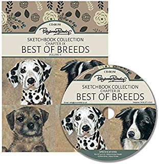 Pollyanna Pickering's Sketchbook Collection Chapter IX - Best of Breeds Volume II CD ROM