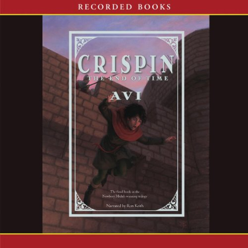 Crispin: The End of Time audiobook cover art