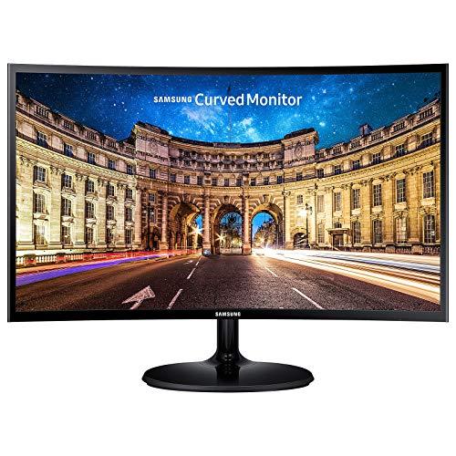 """Samsung C27F390FHU - CF390 Series - écran LED - incurvé - 27"""" - 1920 x 1080 Full HD (1080p) - VA - 250 CD/m² - 3000:1-4 ms - HDMI, VGA - Noir glacé"""