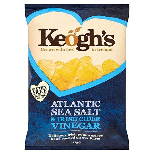 Keogh Atlantikmeersalz & Irish Cider Vinegar Kartoffelchips 125g