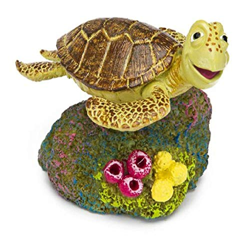 Penn Plax Finding Nemo Resin Ornament, Crush, 2-Inch