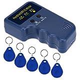 KKmoon Handheld 125KHz RFID ID Card Writer/Copier Duplicator + 5pcs Writable EM4305 Key Card token tags for Home Security