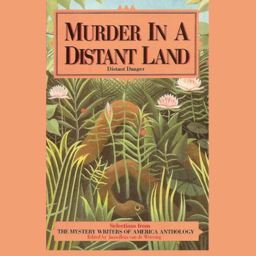 Murder in A Distant Land audiobook cover art