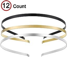 gold metal headbands