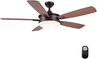 Home Decorators Collection Daylesford 52 in. Oiled Rubbed Bronze LED Ceiling Fan
