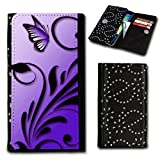 Book Style Flip Handy Tasche Hülle Schutz Hülle Foto Schale Motiv Etui für Doro Liberto 820 mini - Flip SU6 Design2
