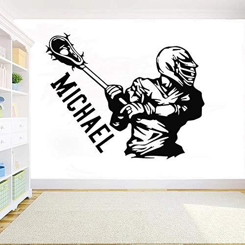 Vinilo de la decoración del hogar de la sala de estar del dormitorio de la pared de la etiqueta engomada de la pared del béisbol