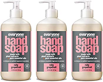 3-Count Everyone Ruby Grapefruit Hand Soap, 12.75 Ounce