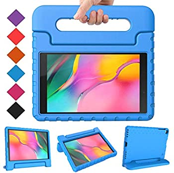 BMOUO Kids Case for Samsung Galaxy Tab A 10.1  2019  SM-T510/T515 Shockproof Light Weight Protective Handle Stand Kids Case for Galaxy Tab A 10.1 Inch 2019 Release SM-T510/T515 - Blue