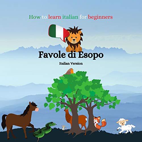 Favole di Esopo [Fables of Aesop] Titelbild