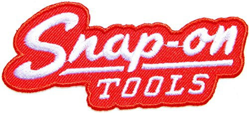 Patch Iron on Applique Embroidered for Snap on Tools Car Garage Automotive Hot Rod Motorcycle Biker Racer Racing Automotive Garage Racing T Shirt Jacket Costume Craft Clothes Accessories