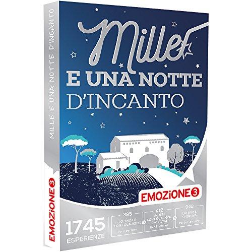 EMOZIONE3 - Cofanetto Regalo - MILLE E UNA NOTTE D'INCANTO - 1745 soggiorni