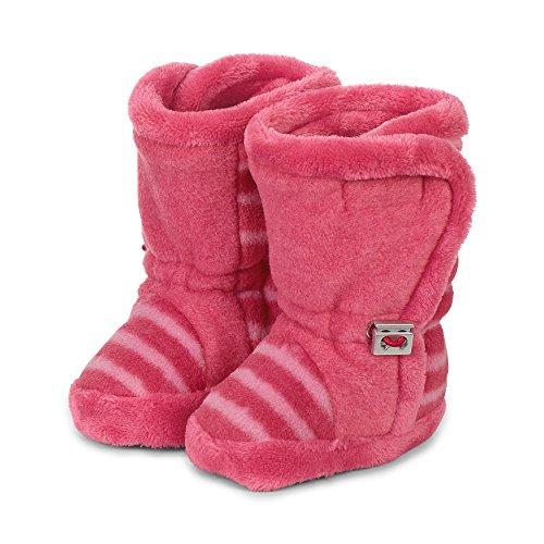 Sterntaler Mädchen Baby-Schuh Stiefel, Rot (Beerenrot), 21/22 EU