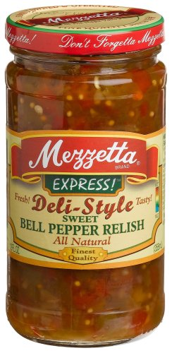 Mezzetta Sweet Bell Pepper Relish, 12 oz