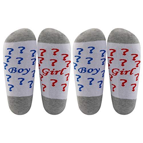 AATOP Calcetines de hospital para mamá embarazada regalo divertido trabajo para niñas y niños