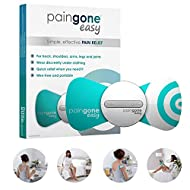 Paingone Easy - Wearable Effective Pain Relief | Wireless Tens Machine for Back, Arms, Legs and Shou...