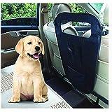 DZL- Barrera de Seguridad para Mascotas, para Viajes, Mascotas, Perros, Asiento de Coche, Valla de Seguridad de Mascota, Asiento Trasero, protección de Red de Aislamiento de Seguridad