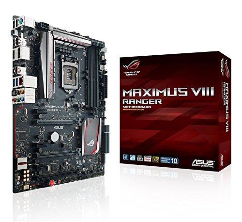 Asus ROG Maximus VIII Ranger Gaming Mainboard Sockel 1151 (ATX, Intel Z170, 4x DDR4-Speicher, USB 3.1, M.2 Schnittstelle)