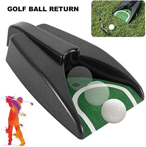 Check Out This KYLL Ball Practice Auto Return Putting Hole Device, Golf Putting Cup Automatic Pad Sa...