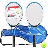 ZJJ Juego de Raquetas de Tenis para niños, Raquetas de Teni