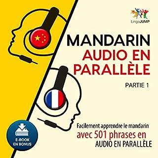 Couverture de Mandarin audio en parallèle - Facilement apprendre le mandarin avec 501 phrases en audio en parallèle