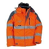 Cofra Rescue - Giacca di sicurezza, colore: Arancio fluo, 40-00V01701-52