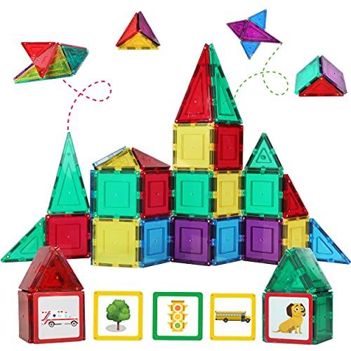 Shapemags 32 Pcs Magnet Building Tiles...