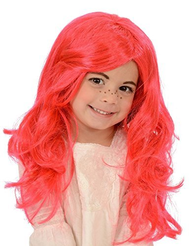 Kangaroo Child's Strawberry Girl Costume Wig